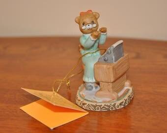 Vintage Collectable Honey Bears Porcelain Figurine