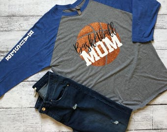 Basketball Mom Shirt / Basketball Mom / Mom Shirts / Graphic Tee / Basketball Shirt / Graphic T-Shirt / Gifts For Mom / Christmas Gift