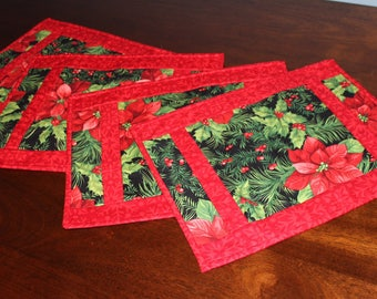 Christmas Placemats / Holiday Placemats / Winter Placemats