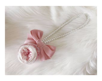 Preserved flower car hanging,gift for friend, for girl friend