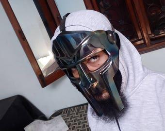 Gladiator face mask Mf Doom Mask Larp Sca mask MF DOOM