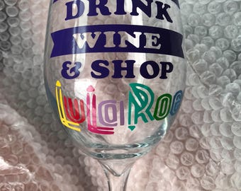 Put your business logo on a wine glass