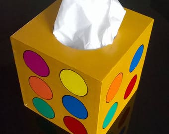 Dice Tissue Box Cover