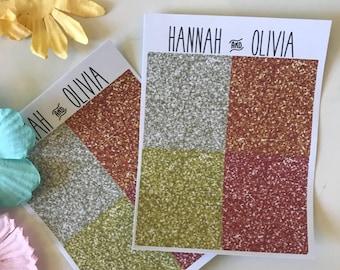 Spring Glitter Headers - ECLP/Happy Planner - Matte Stickers / Planner Stickers