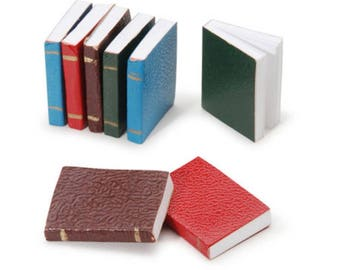 Dollhouse Miniature Set of 8 Books
