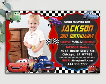 Disney Cars Birthday Invitation, Disney Cars Invitation, Disney Cars Birthday, Disney Cars Party, Disney Cars Invites, Disney Cars Printable