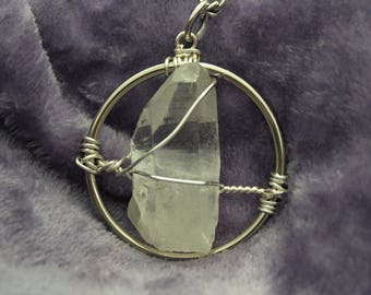 Illumination Quartz Crystal Pendant | 08