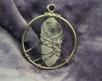 Illumination Quartz Crystal Pendant | 10