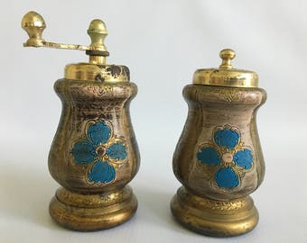 Vintage Salt and Pepper Shaker Set