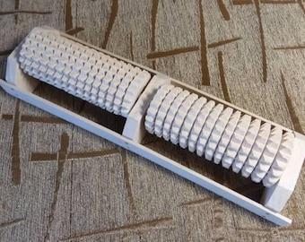 New Hand made Rolling Foot Massager Roller Massage wood #d193
