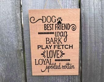 Wooden Home Decor (Fur-Baby)