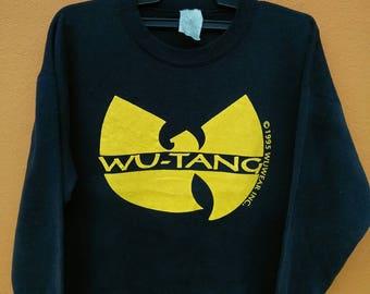 Rare vintage wu tang big logo 90s