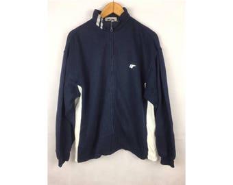 PRO-KEDS Long Sleeve Sweater Fully Zipper Large Size Sportwear