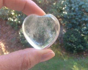 Quartz Crystal Heart
