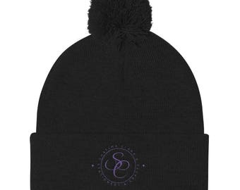 SC Stationery and Crafts Pom Pom Knit Cap
