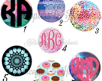 Popsocket type cell phone tablet stand CUSTOMIZED or plain