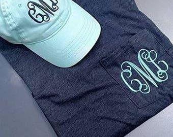 Monogrammed Shirt & Hat Sets