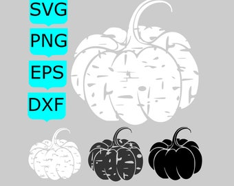Pumpkin Svg Pumpkin Distressed Svg Pumpkin Cut File Pumpkin Clipart Fall SVG Autumn SVG svg file for Cricut Silhouette Fall Cut Files