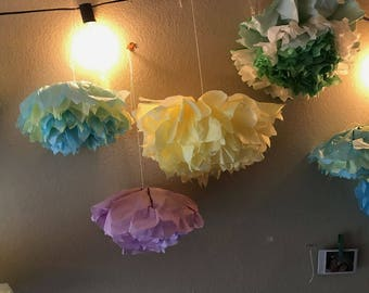 Paper Tissue Flowers