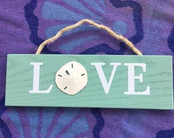 Sanddollar Love Sign