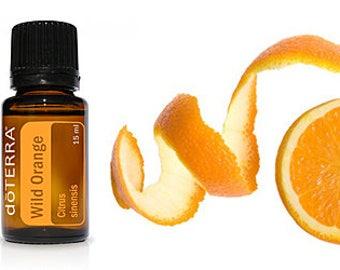 doTERRA Wild Orange 15ml. Essential Oil. Citrus Essential Oil.