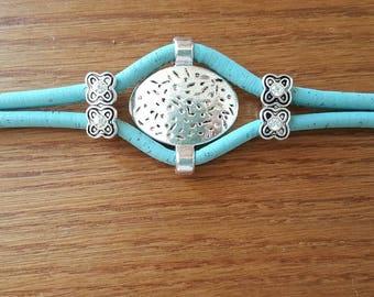 Double blue bracelet