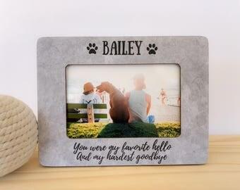 Pet Loss Frame. Pet loss gift. Cat loss frame. Pet memorial gift. Cat sympathy gift