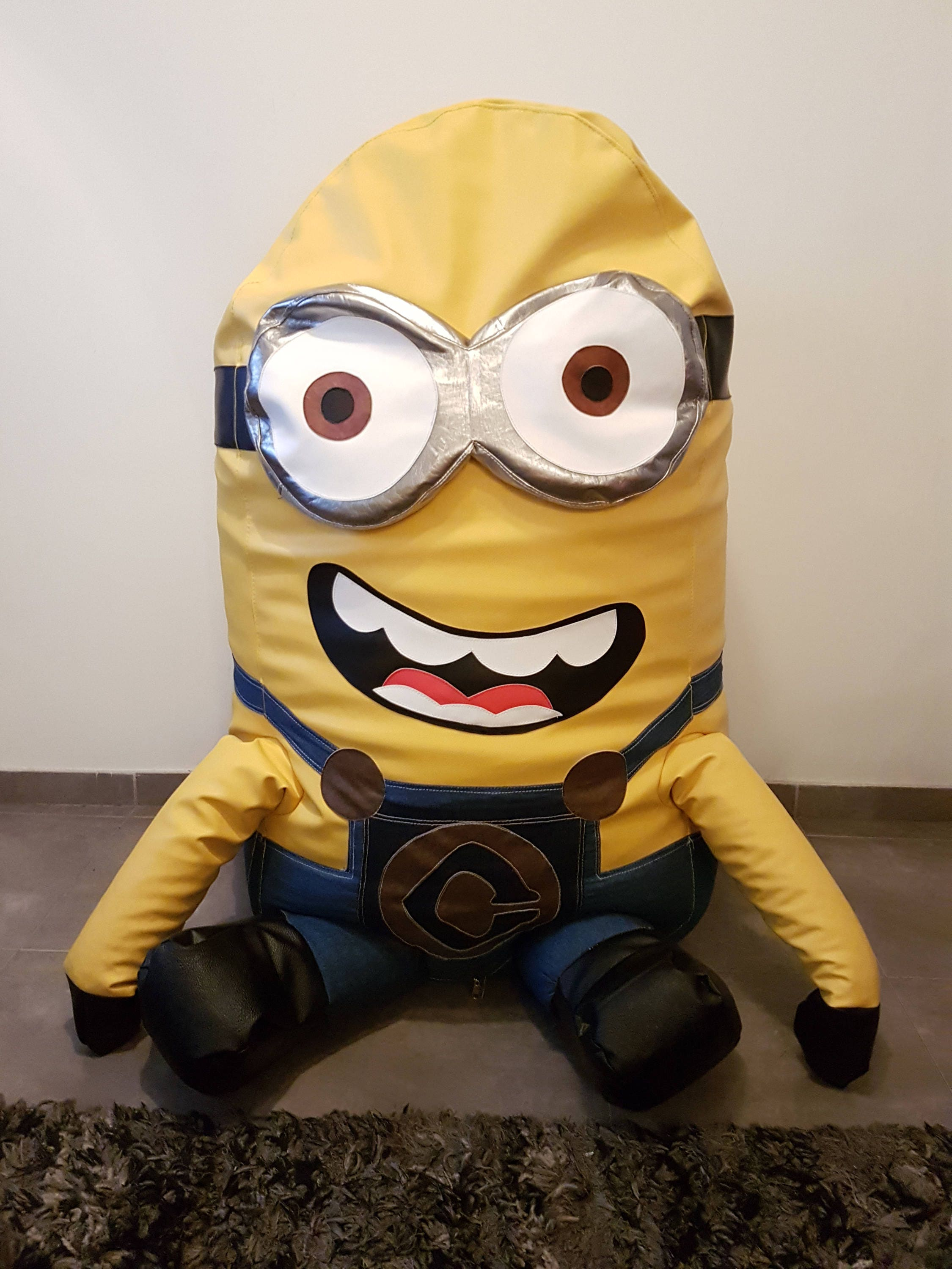 Large Minion Bean Bag Chair For Minions Fan Handcrafted