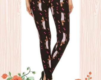 Black Dog Leggings
