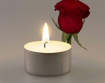 Roses Vegan Soy Handmade Scented Tealights