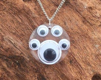 Googly Eye Necklace