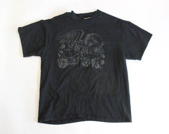 Vintage 1996 Sturgis Double Sided Eagle Motorcycle T-Shirt // Hanes Heavyweight // Men's L