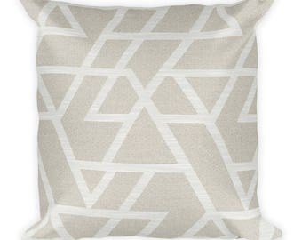 Modern Square Pillow, Throw Pillow, Couch Pillow, Decorative Pillow, Modern Home Decor, Custom Pillow, Custom Home Decor, Euro Sham