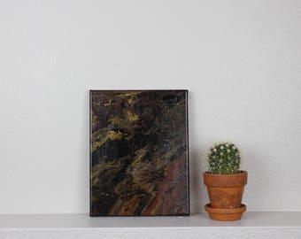 """Acrylic Fluid Painting """"Canopus""""  8""""X10"""""""