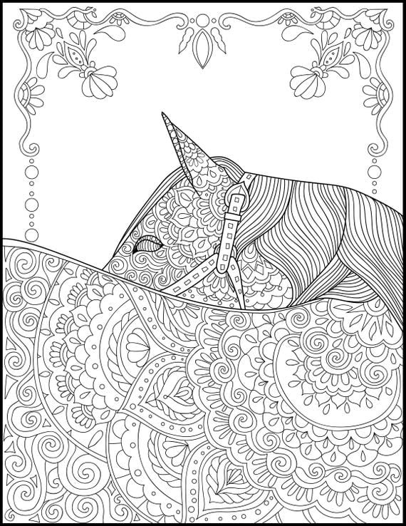 coloring pages printable horses | Printable Coloring Page Adult Coloring Pages Horse