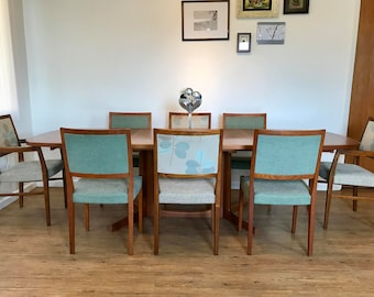 Large Mid Century Danish Teak Dining Set By Moller (Gudme) U0026 Svegards  Markyard