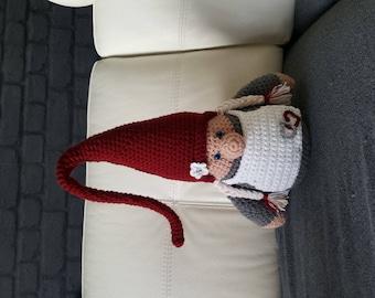 Mama large gnome pattern crochet