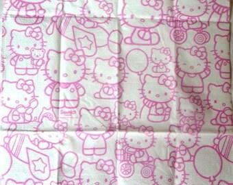Tissue paper hello 2 pink
