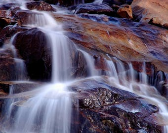 Waterfall In the Rocky Mountain National Park