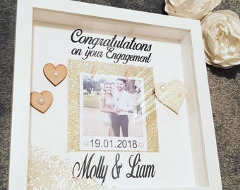 Engagement frame, engagement gift, engaged