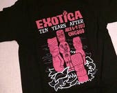 EXOTICA 2017 Chicago Tiki Event T-Shirt Feat. KONA KAI Tikis