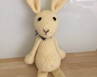 Hand made,  crochet bunny
