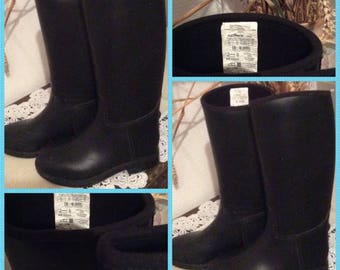 SALE 30%! Code: SOLDESCNS! VINTAGE! Boots special rubber child horses