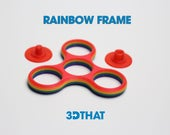 Rainbow Fidget Spinner Frame DIY Wholesale - Bulk