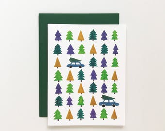 Trees - Christmas Card