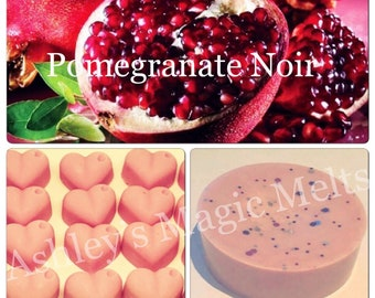 Pomegranate noir jo malone perfume wax melts, designer dupe melts, cheap wax melts, highly scented melts, perfume dupe, tart melts