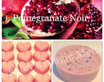 Pomegranate noir jo malone perfume wax melts, designer dupe melts, cheap wax melts, highly scented melts, perfume dupe, tart melts
