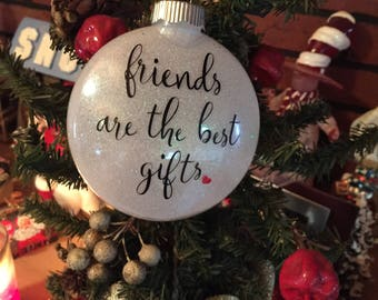 Best Friend Gift 2018 Christmas Ornament Personalized