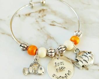 Dory Bangle Bracelet // Disney // Gifts for Her