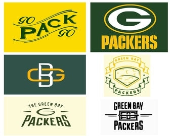 Green Bay Packers Svg, Eps, Dxf, Png, Pdf,  Bay clipart,Green Bay Football, Svg Cameo, DXF File, Green Bay Graphic, Monogram